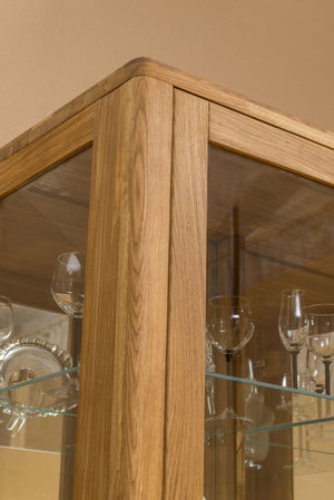 NordicStoryNordic Scandinavian classic display case oak solid wood