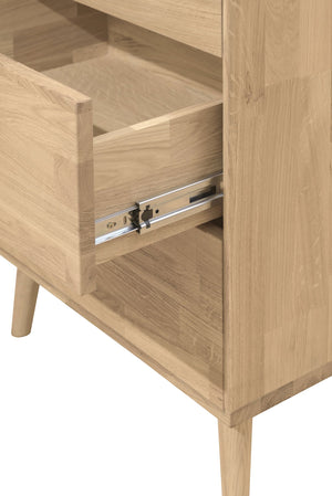 "NordicStory Chest of drawers ""Escandi 6"" 60 x 45 x 139 cm."
