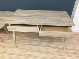 NordicStory Scandinavian Nordic Modern Style Solid Oak Wood Desk