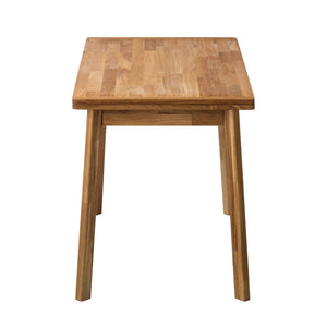 NoridcStoy Solid Oak Nordic Mini 1 Extendable Dining Table