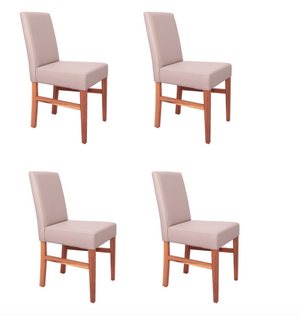 NordicStory Pack of 4 Cardiff Dining Chairs