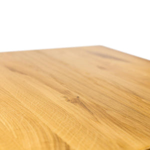 Solid oak high table