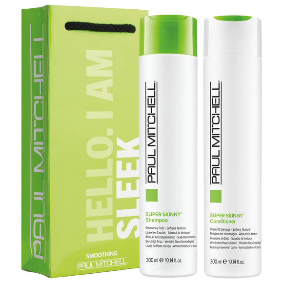 Paul Mitchell SUPER SKINNY Shampoo & Conditioner DUO 300ml SMOOTH DE FRIZZ