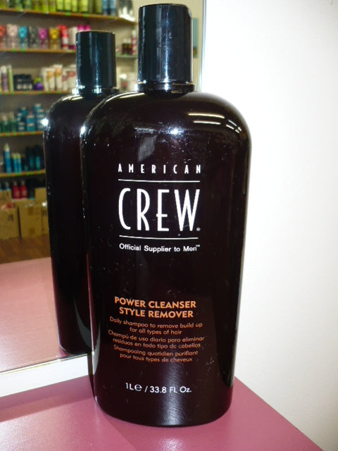 American Crew Men Power Cleanser Style Remover SHAMPOO TO REMOVE BUILD UP LITRE