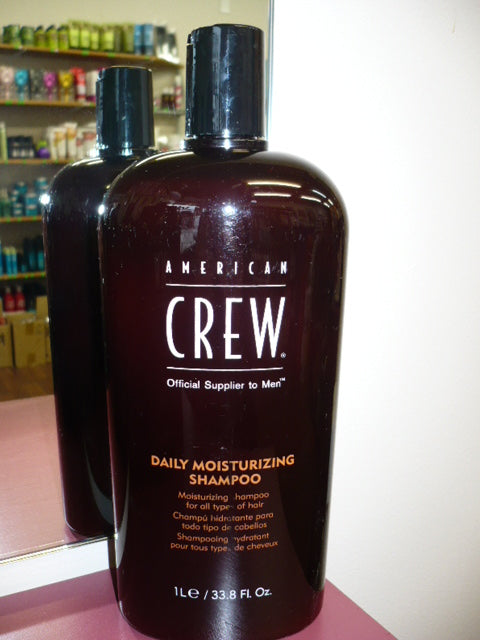 American Crew Men Daily Moisturizing Shampoo MOISTURIZING FOR ALL HAIR LITRE