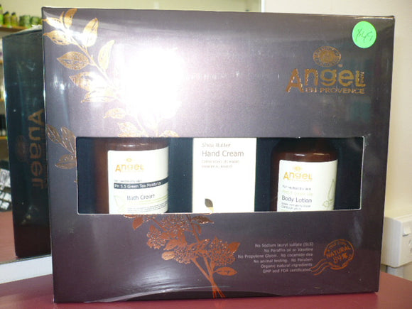 ANGEL EN PROVENCE BATH & BODY PACK 3 PRODUCTS