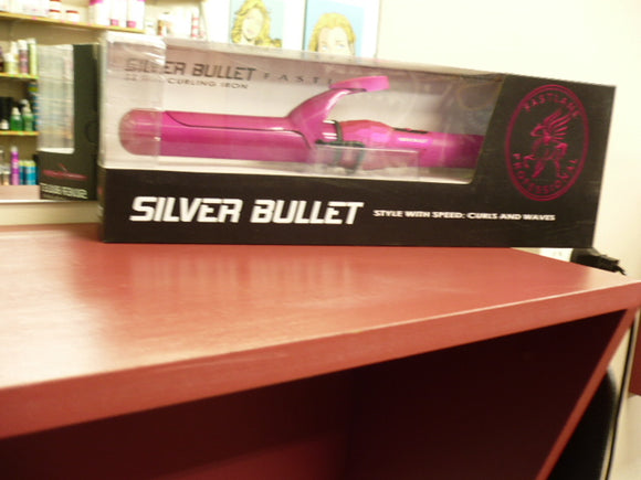 SILVER BULLET FASTLANE PINK 38MM CURLING IRON