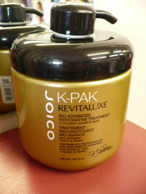 JOICO K-Pak RevitaLuxe Bio-Advanced Restorative REPAIR Treatment HUGE 480ML TUB