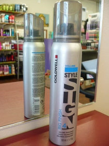 GOLDWELL STYLE SIGN VOLUME 4 - BIG FINISH VOLUME HAIRSPRAY 100ML TRAVEL SIZE