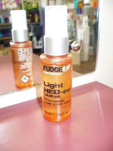 FUDGE Light Hed-ed Hair Oil 50ML - Abyssinian and Argan oil