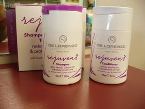 DeLorenzo Rejuven8 Shampoo And Conditioner Duo Pack TRAVEL SIZE