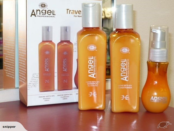 Dancoly Angel Professional Shampoo & conditioner FOR DRY HAIR TRIO TRAVEL SIZE