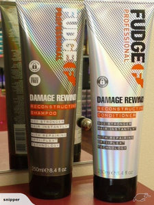 Fudge Damage Rewind Reconstructing Shampoo & Conditioner DUO TREATMENT PRODUCT