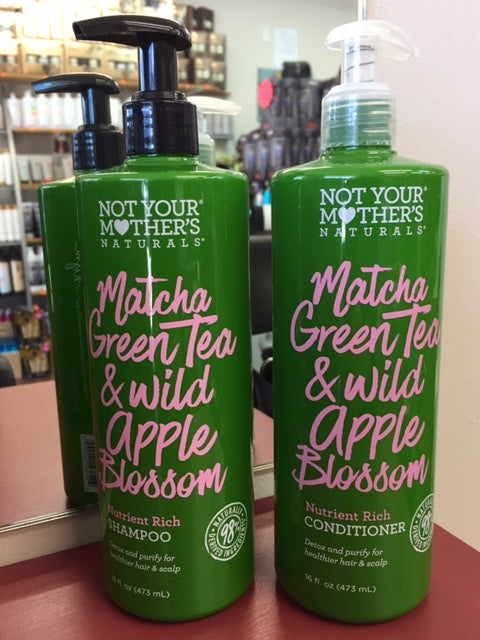 NOT YOUR MOTHERS MATCHA GREEN TEA & WILD APPLE BLOSSOM DUO PACK