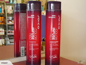 JOICO Color Infuse Red Shampoo & Conditioner - RED TONER DUO