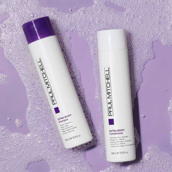 PAUL MITCHELL EXTRA BODY SHAMPOO & CONDITIONER 2 x 300ml