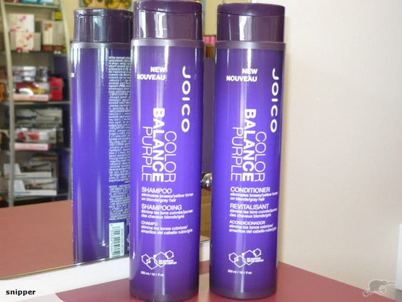 JOICO Color Balance PURPLE Shampoo & Conditioner DUO - BLONDE TONER