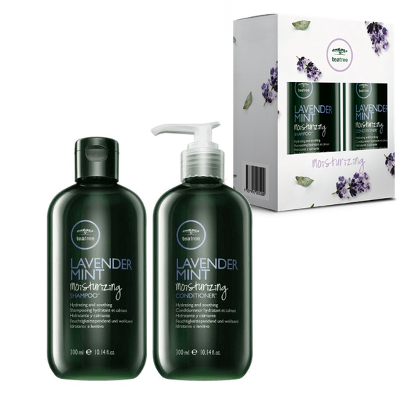 PAUL MITCHELL TEA TREE LAVENDER MINT DUO SHAMPOO & CONDITIONER BOTH 300ML