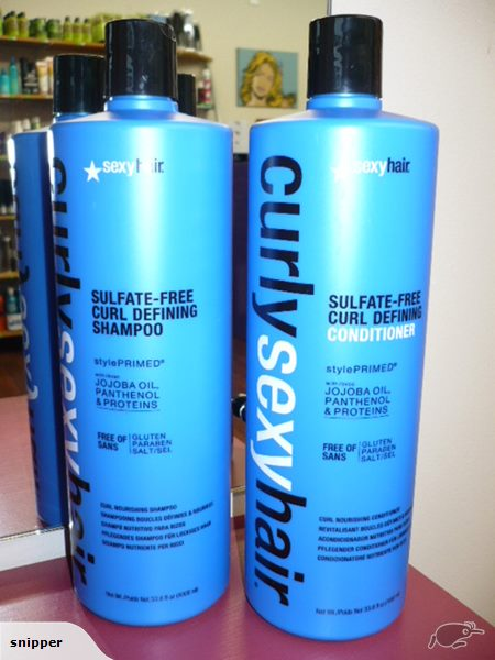 SEXY HAIR CURLY SHAMPOO AND CONDITIONER DUO LITRE