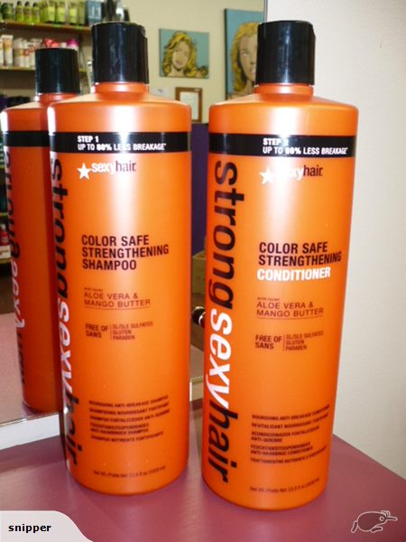 SEXY HAIR STRONG SHAMPOO AND CONDITIONER DUO LITRE