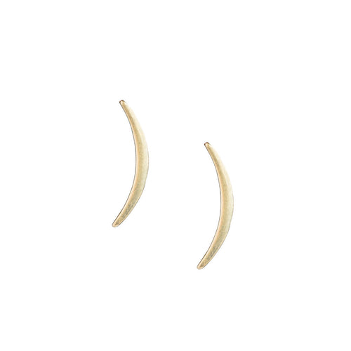 Curved Bar Ear Crawler Studs