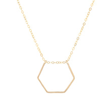 Load image into Gallery viewer, Hexagon Threader Necklace