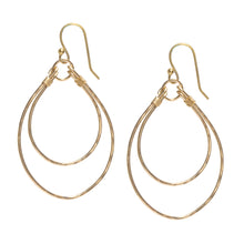 Load image into Gallery viewer, Double Hoop Sayulita Earrings