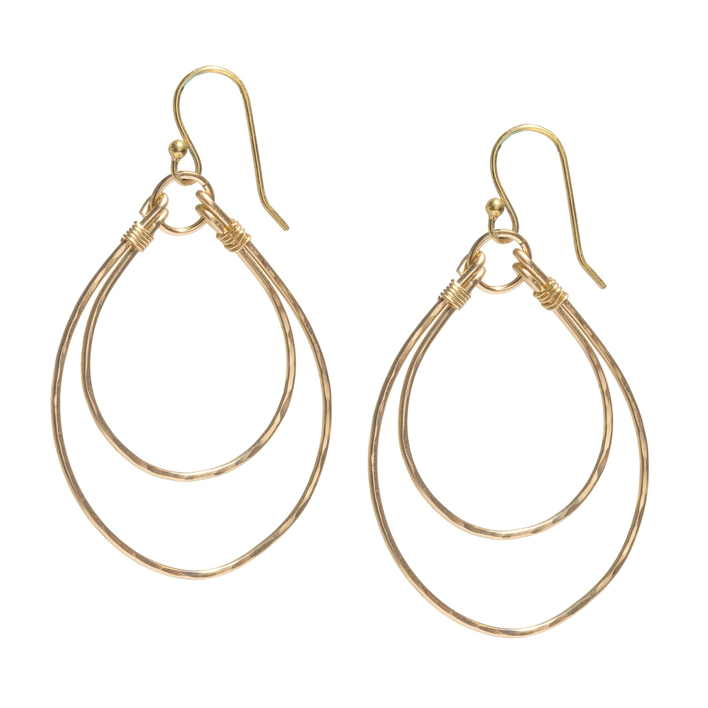 Double Hoop Sayulita Earrings