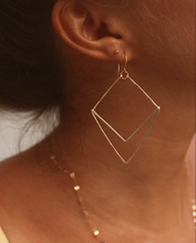 Load image into Gallery viewer, Geometric Chevron Earrings