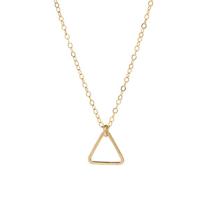 Triangle 14k gold-filled Necklace