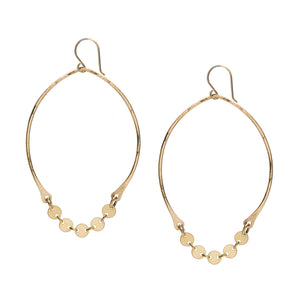 Mini Disc Gold Hoops