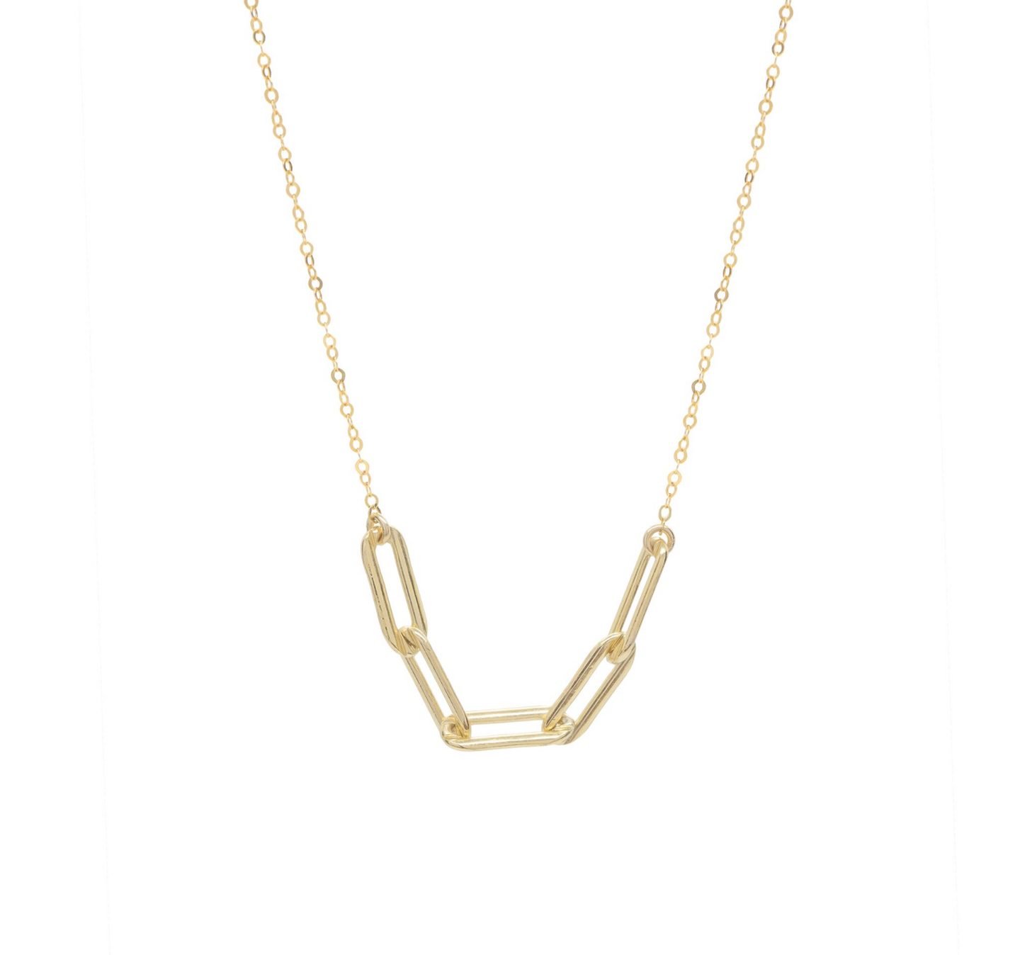 City Slicker Chunky Gold Chain Necklace