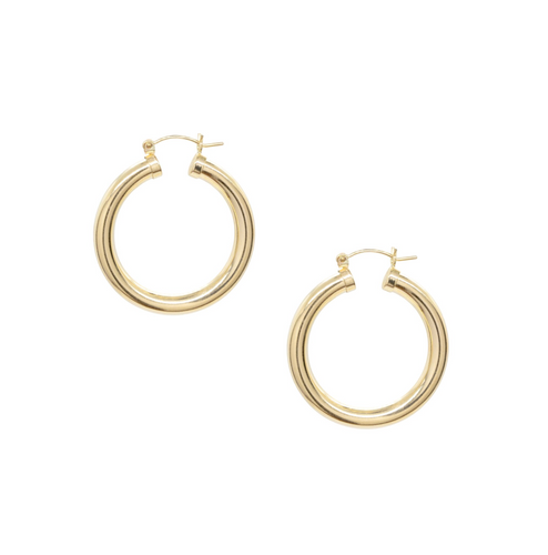 Chunky Monkey Hoop Earrings