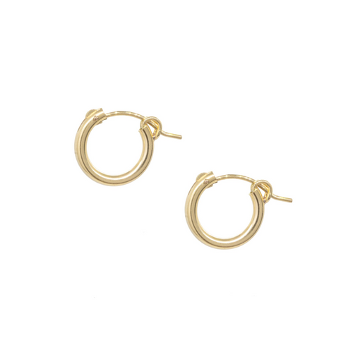14k gold-filled Huggies / Mini Hoop Earrings