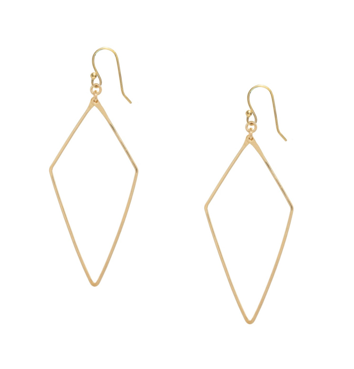 Diamond Narrow Earrings
