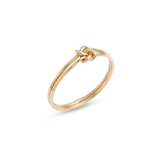 Load image into Gallery viewer, 14k gold-filled Double Knot Ring