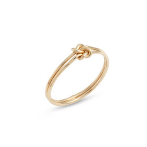 14k gold-filled Double Knot Ring