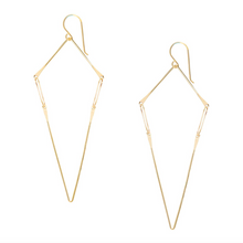 Load image into Gallery viewer, Modern Geometric Chain Earrings