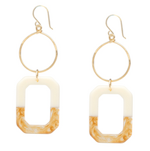 Load image into Gallery viewer, Ombre Gold Earrings