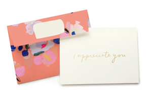 Blooms - I appreciate you Card