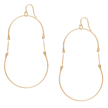 Load image into Gallery viewer, Olaf Chain Earrings