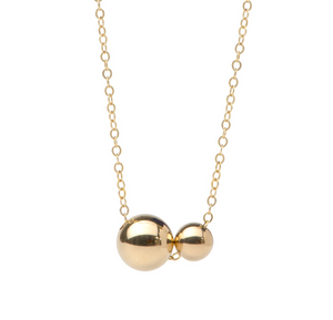Floating Spheres Necklace