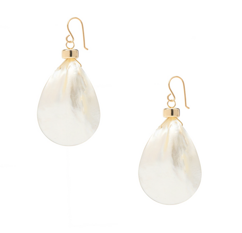 Moorea Mother of Pearl Earrings