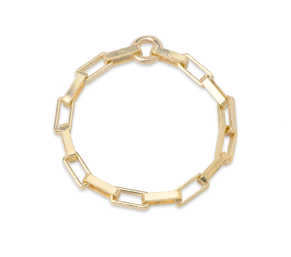 Venetian Gold Chain Ring
