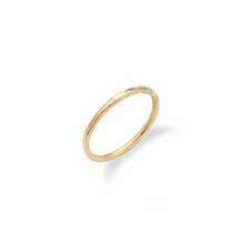 Load image into Gallery viewer, Thin Gold Stacking Ring
