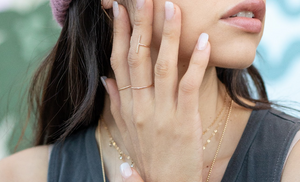 Thin Gold Stacking Ring