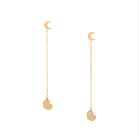 I love you to the moon and back Earrings