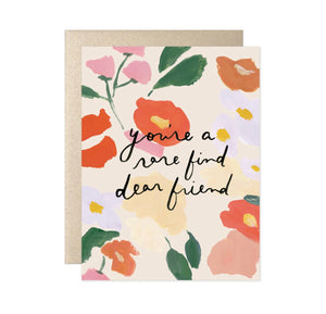 Rare find Dear Friend Card