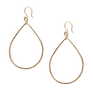 Tear Drop Shaped Earrings