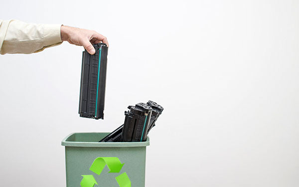 how to recycle our empty waste printer ink cartridges